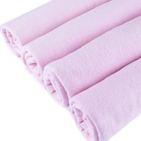 Пеленка фланелевая цвет розовый 75/120 фото