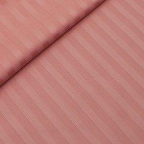Наволочка страйп-сатин 129 коралловый 50/70 фото