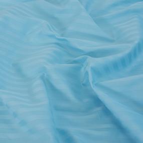 Простыня страйп-сатин 906 цвет голубой 1.5 сп фото