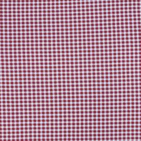Ткань на отрез кулирка 1003-V84 Клетка цвет красный фото