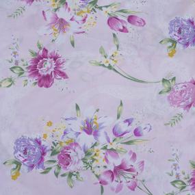 Тик 220 см 145 +/- 5 гр/м2 Цветная роза цвет розовый 005 фото