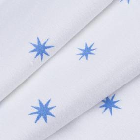 Ткань на отрез фланель 80 см 80721 Звезды фото