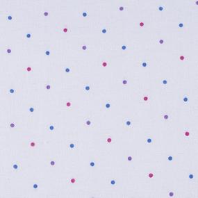 Маломеры фланель 80 см Горох 4.7 м фото