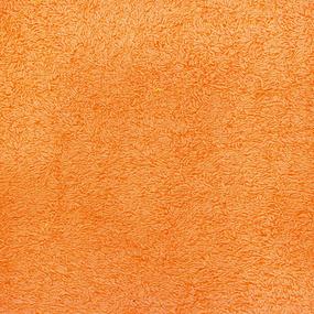 Простынь махровая цвет Желтый 155/200 фото