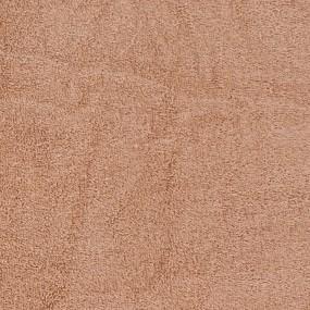 Простынь махровая цвет Жареный орех 155/200 фото