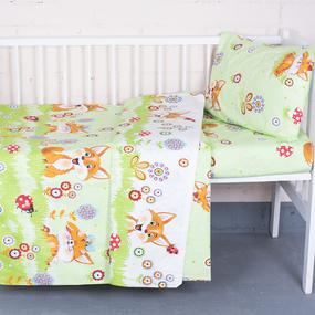 Постельное белье в детскую кроватку 89421 бязь ГОСТ фото