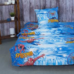 Детское постельное белье из бязи 1.5 сп 3474/1 Спайдермен фото