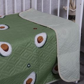 Покрывало детское ультрастеп двухстороннее 4008 Авокадо 105/150 см фото