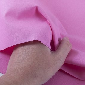 Ткань на отрез бязь ГОСТ Шуя 150 см 18050 цвет розовый фото