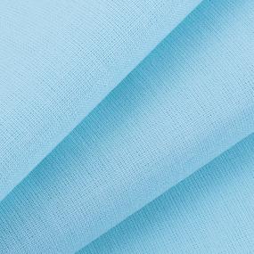 Ткань на отрез бязь ГОСТ Шуя 150 см 18200 цвет небесный фото