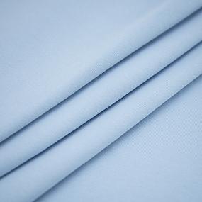Ткань на отрез футер 3-х нитка диагональный цвет голубое небо фото