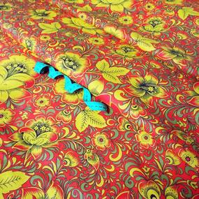 Мерный лоскут бязь плательная 150 см 4734/6 цвет красный фото