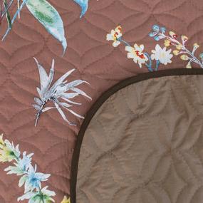Покрывало ультрастеп двухстороннее FS2013 коричневый 150/210 фото