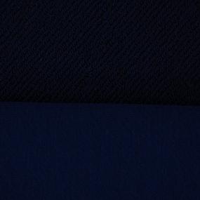 Ткань на отрез футер 3-х нитка диагональный цвет темный индиго фото