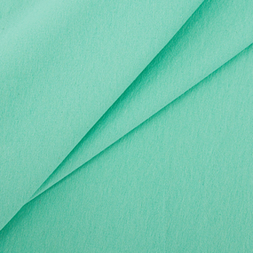 Ткань на отрез футер с лайкрой 2507-1 цвет мятный фото