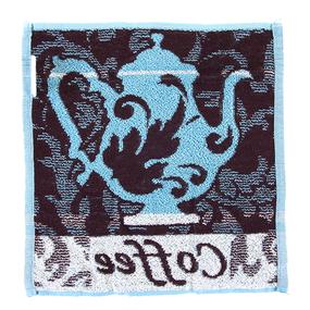 Салфетка махровая 4554 Кофе-чайник 30/30 см фото