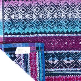 Салфетка махровая 3631 Ромбы 30/30 см фото