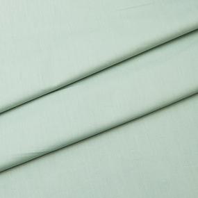 Ткань на отрез сатин гладкокрашеный 240 см TQ01 цвет мята фото