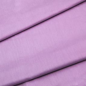 Ткань на отрез сатин гладкокрашеный 240 см TQ05 цвет сиреневый фото