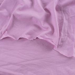 Ткань на отрез кулирка цвет розовый фото