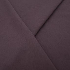 Ткань на отрез футер 3-х нитка диагональный цвет темно-лиловый фото
