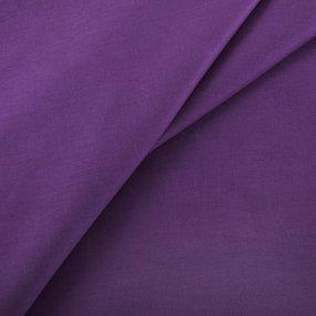 Ткань на отрез сатин гладкокрашеный 250 см 17-1710 цвет лиловый фото