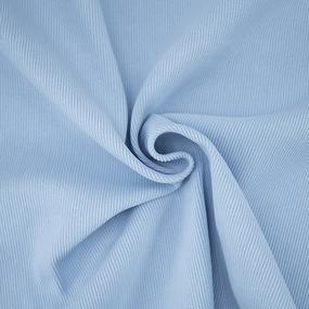 Ткань на отрез кашкорсе 3-х нитка с лайкрой цвет голубое небо фото