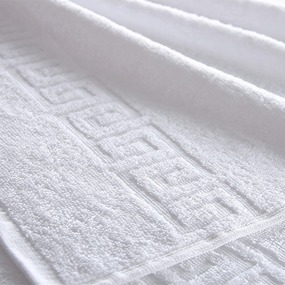 Полотенце махровое Туркменистан 50/100 см белое фото