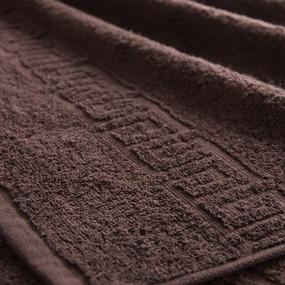 Полотенце махровое Туркменистан 50/90 см цвет коричневый Brownie фото