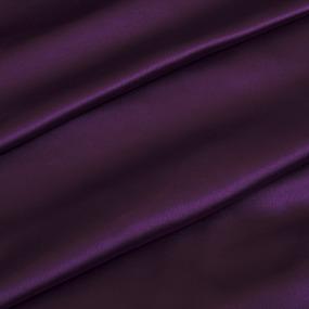 Шелк искусственный 100% полиэстер 220 см цвет фиолетовый фото