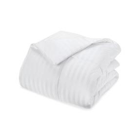Одеяло Премиум лебяжий пух чехол страйп-сатин 300 гр/м2 200/220 фото