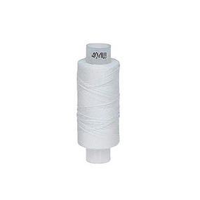 Нитки швейные 40ЛШ 200м цвет 0101 белый фото