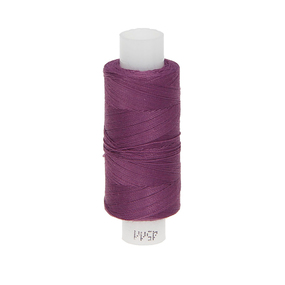 Нитки швейные 45ЛЛ 200м цвет 1612-тём.сирень фото