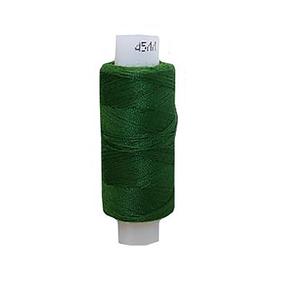 Нитки швейные 45ЛЛ 200м цвет 3114 т.зеленый фото