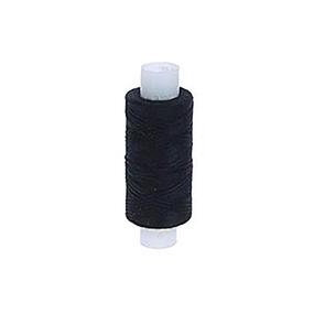 Нитки швейные 40ЛШ 200м цвет 6818 черный фото
