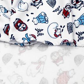 Ткань на отрез интерлок R376 Новый год фото