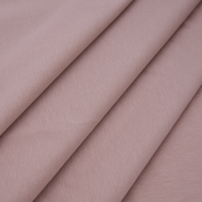 Ткань на отрез кулирка с лайкрой 3749-1 цвет пудровый фото