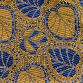 Ткань на отрез гобелен 150 см KS14 цвет синий фото
