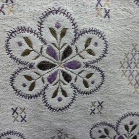 Ткань на отрез гобелен 200 см 2010-36 цвет серый фото