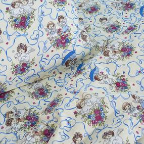 Постельное белье детское 4251/1 Маленькие ангелы 1.5 сп фото