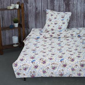 Детское постельное белье из бязи 1.5 сп 4251/1 Маленькие ангелы фото