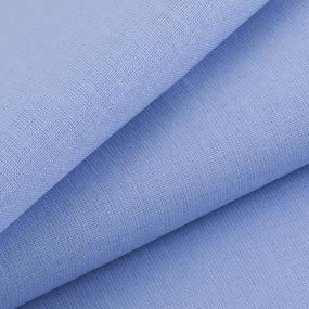Мерный лоскут бязь ГОСТ Шуя 150 см 12910 цвет голубой кристалл фото