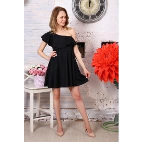 Платье Афина черное Д521 р 56 фото