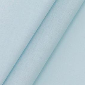 Поплин гладкокрашеный 220 см 115 гр/м2 22111 цвет голубой фото