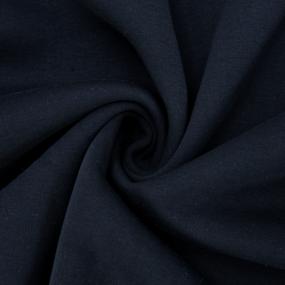 Маломеры футер 3-х нитка компакт пенье начес цвет темно-синий 2 - 1 м фото