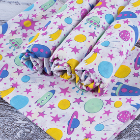 Набор детских пеленок ситец 4 шт 90/120 см 95092 фото