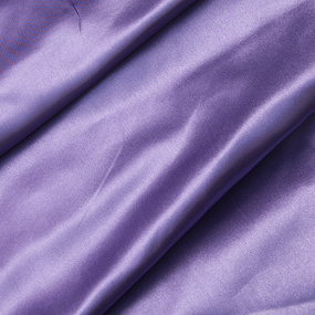 Ткань на отрез шелк искусственный 100% полиэстер 220 см цвет сиреневый фото