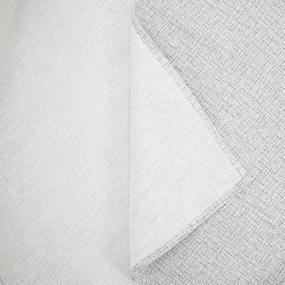 Скатерть рогожка 10962/2 Лен серый 150/260 фото