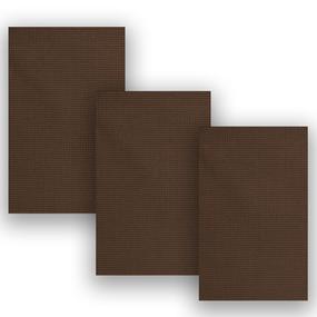 Набор вафельных полотенец Премиум 3 шт 45/70 см 896 темно-коричневый фото