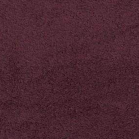 Простынь махровая цвет Шоколад 150/220 фото